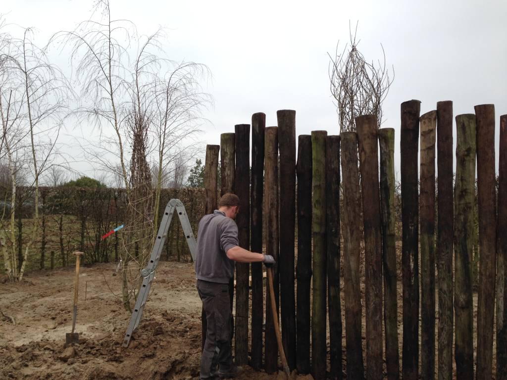 Afscheiding tuin free poort spijlen afscheiding beveiliging