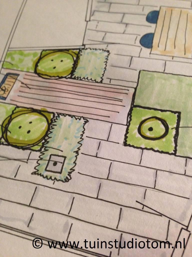 ontwerp buurt speelplaats
