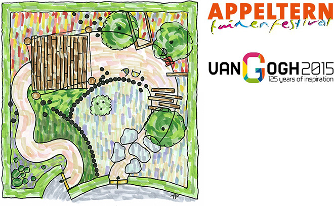 Festivaltuin Bal Populaire in de Tuinen van Appeltern